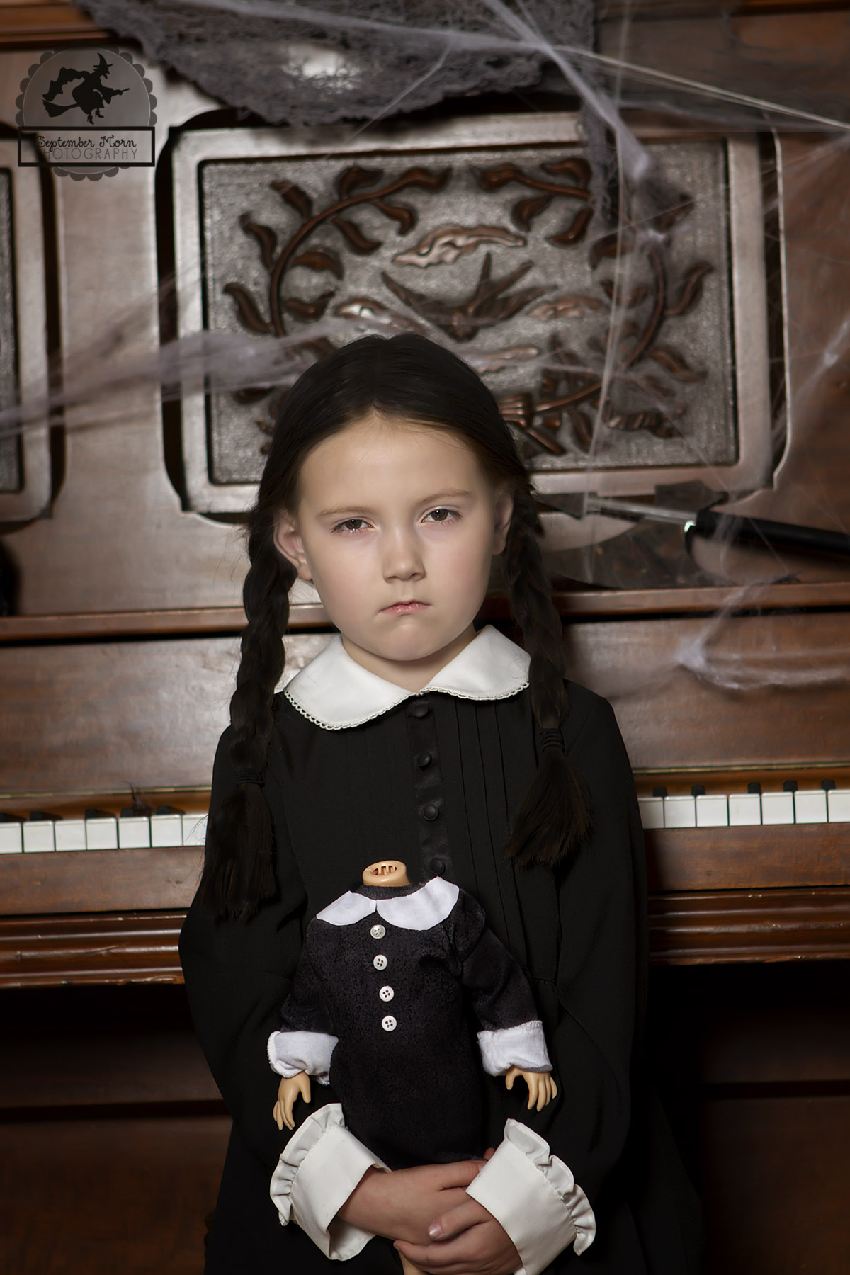 Day 26 Wednesday Addams Stellaween